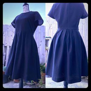Calvin Klein Black Vintage Inspired Dress